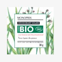 Les cosmétiques solides Zéro déchet & Bio Monoprix