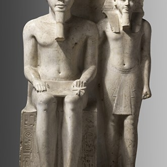 Horemheb e Amon, Nuovo Regno, XVIII dinastia, regno di Horemheb (1319-1292 a.C.) C. 768