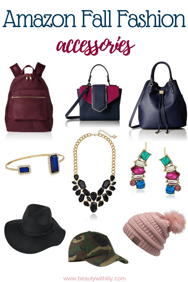 Affordable Amazon Fall Fashion // Fall Accessories // Affordable Accessories | Beauty With Lily - A West Texas Beauty, Fashion & Lifestyle Blog