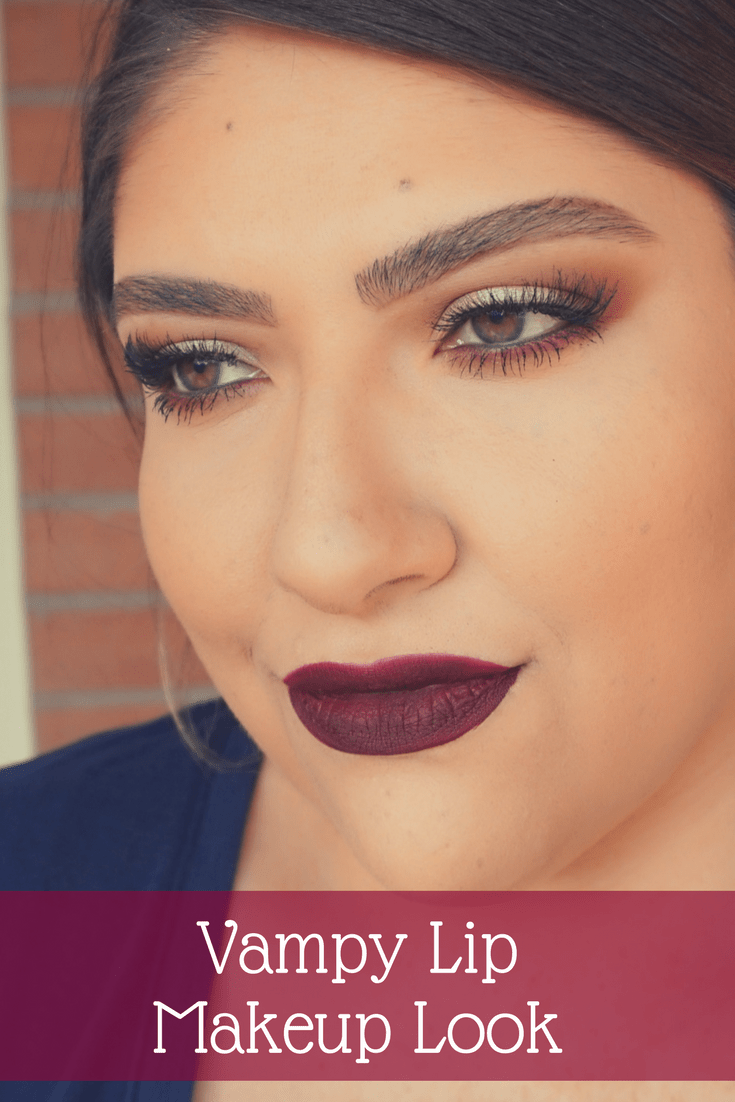 Vampy Lip Makeup Look // Bold Lip Makeup Look | Beauty With Lily
