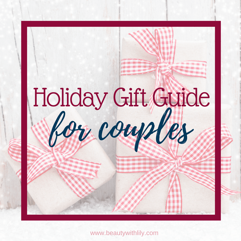 Gift Guide For Couples // Beauty With Lily #giftguide
