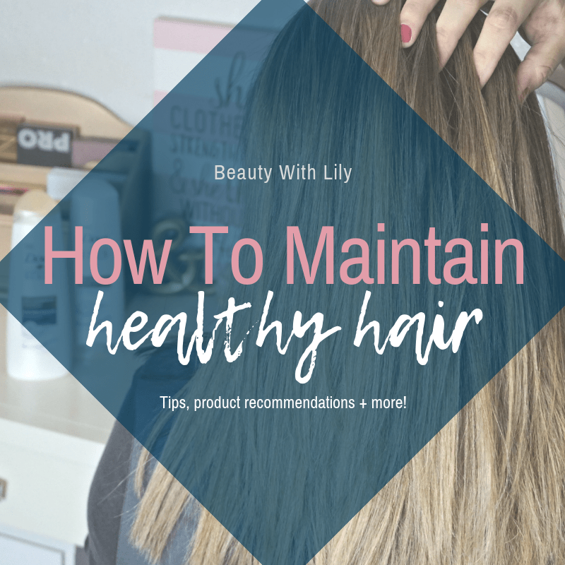 How To Maintain Healthy Hair // Hair Care Tips for Healthy Hair // How To Protect Your Hair | Beauty With Lily #ad #DiscoverDoveDerma