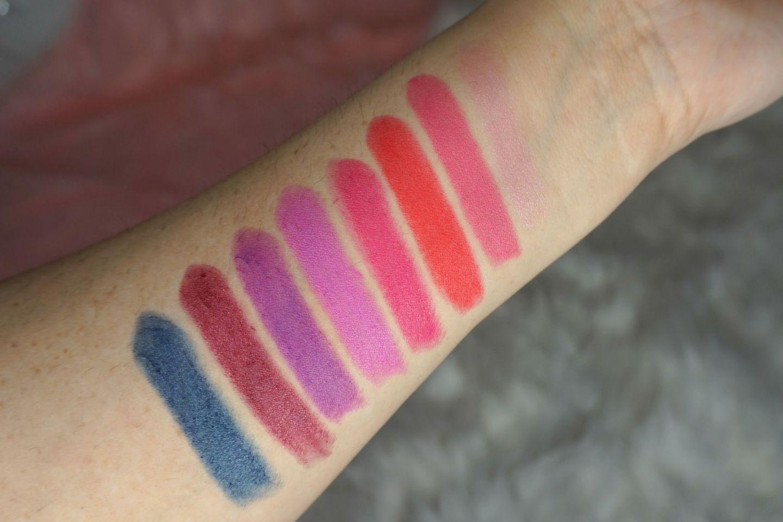 Almay Lip Vibes Lipsticks // Drugstore Lipsticks // Lipstick Swatches // Affordable Lipsticks // Red Lipstick // Nude Lipstick // Pink Lipstick | Beauty With Lily