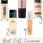 Best Full Coverage Drugstore Foundations Beauty With Lily