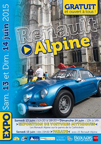 1505 renault alpine | Exposition Alpine à Beauvais le 13 et 14 juin 2015