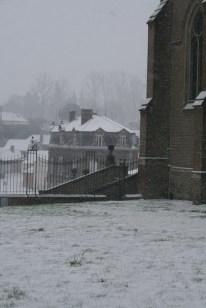 Beauval sous la neige
