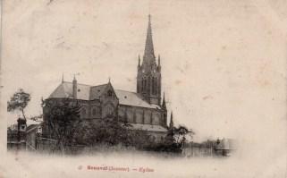 Église vue de profil