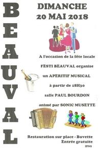 Festi Beauval - Apéritif musical @ Salle Paul Bourdon   Beauval   Hauts-de-France   France