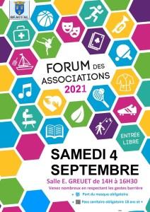 Forum des sports et des associations @ Salle Eugéne Greuet | Beauval | Hauts-de-France | France