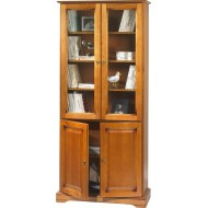 bibliotheque 4 portes merisier bibliotheque 4 portes merisier