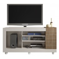 meuble tv 55 pouces blanc chene 1 porte meuble tv 55 pouces blanc chene 1 porte