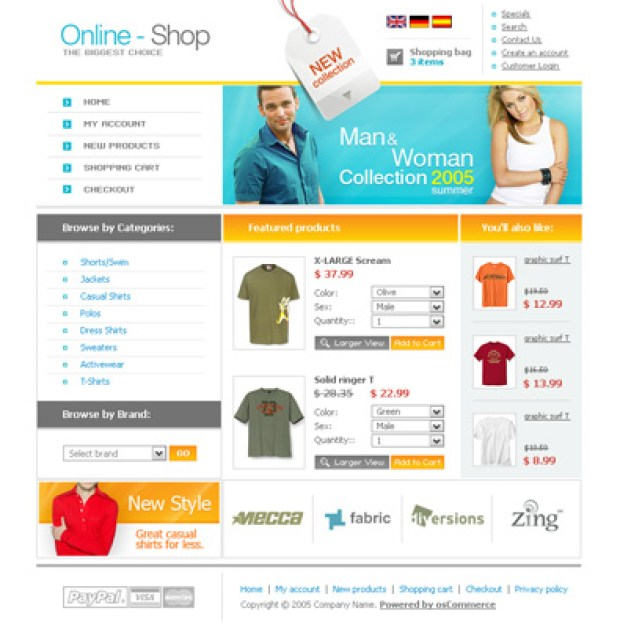 onlineshop-template-oscommerce-gratuit