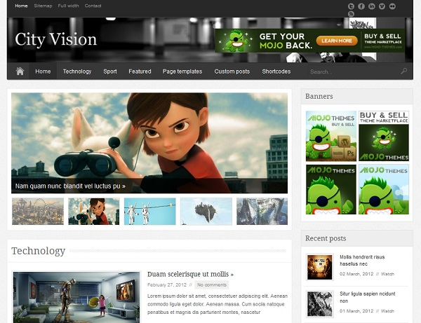 cityvision-theme-wordpress-premium