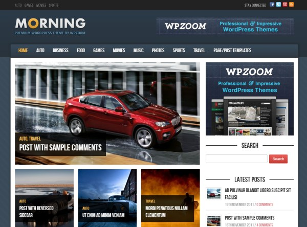 morning-theme-wordpress-premium