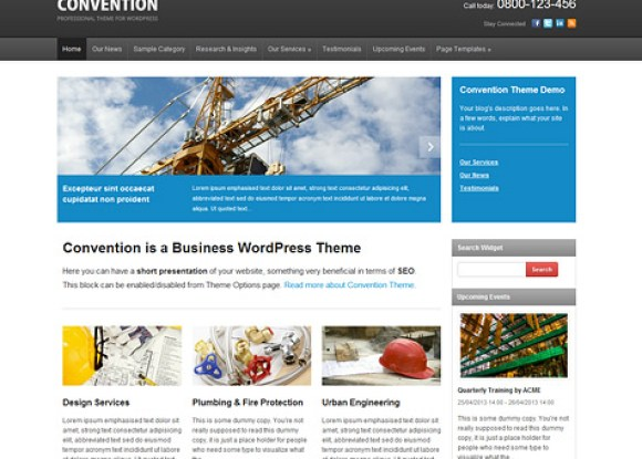 convention-theme-wordpress-premium