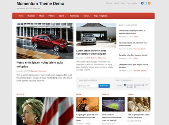 momentum-theme-wordpress-premium