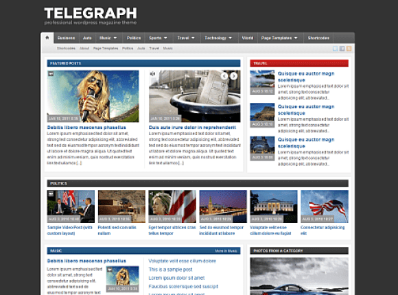 telegraph-theme-wordpress-premium