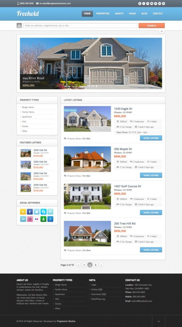 freehold-theme-drupal-immobilier