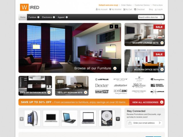 hellowired-theme-magento-gratuit