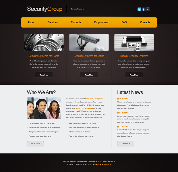 securitygroup-template-html-gratuit