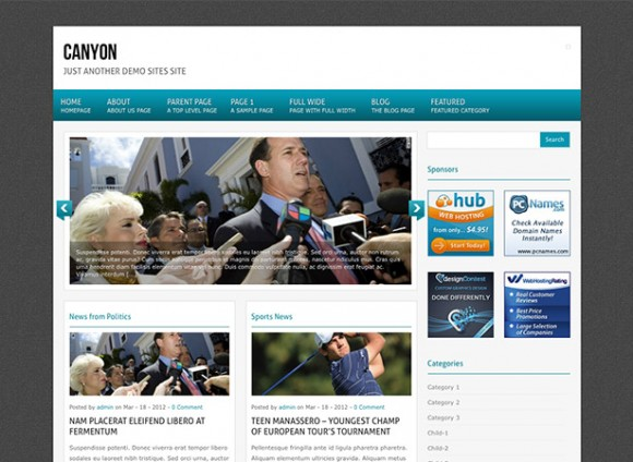 canyon-theme-wordpress-magazine-gratuit