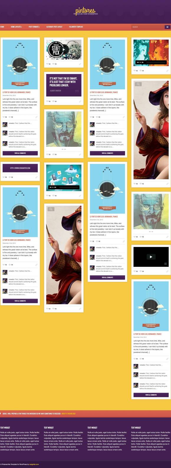 pintores-template-html-photographie