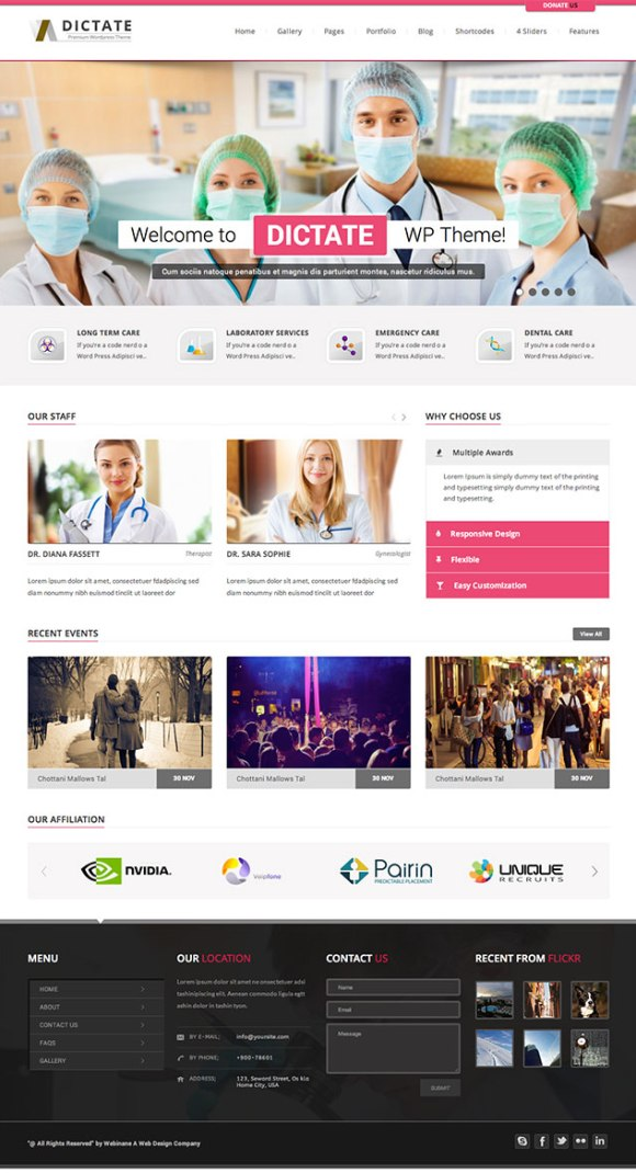 dictate-theme-wordpress-site-medical-pharmacie-clinique