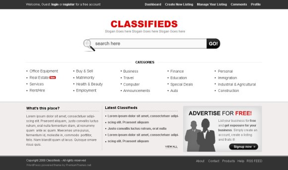 classifieds-wordpress-theme-petites-annonces