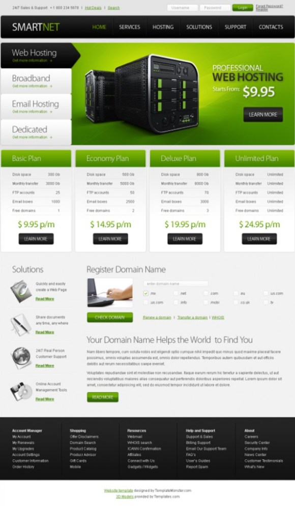 smartnet-template-html-hebergement-web