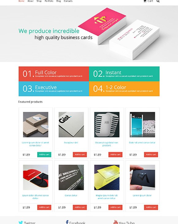 businesscards-theme-wordpress-woocommerce-eboutique