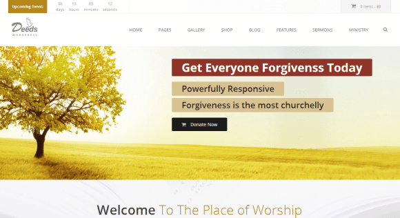 deeds-theme-wordpress-eglise-premium