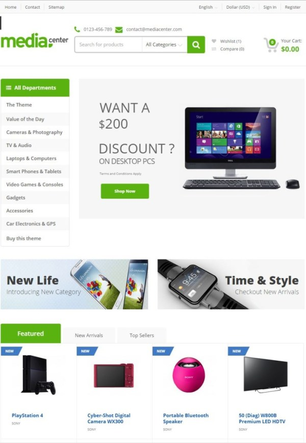 mediacenter-theme-prestashop