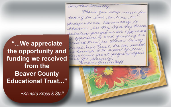 great ideas mini grants beaver county educational trust