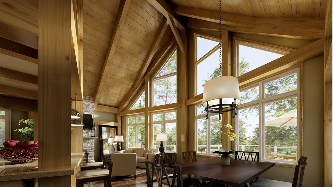 Beaver Homes And Cottages Whats Included Timber Frame