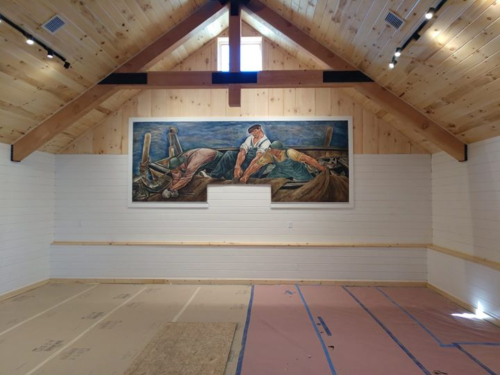 The Sepeshy Mural is Back! And it looks spectacular in its new home.