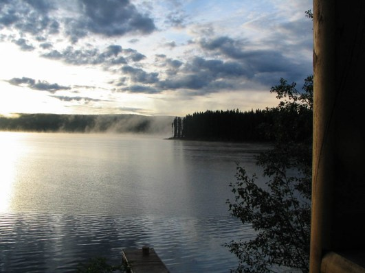 View from Cabin 15