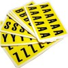 adhesive sticker letter labels