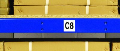 magnetic labels with numbers and letters for racking and shelving