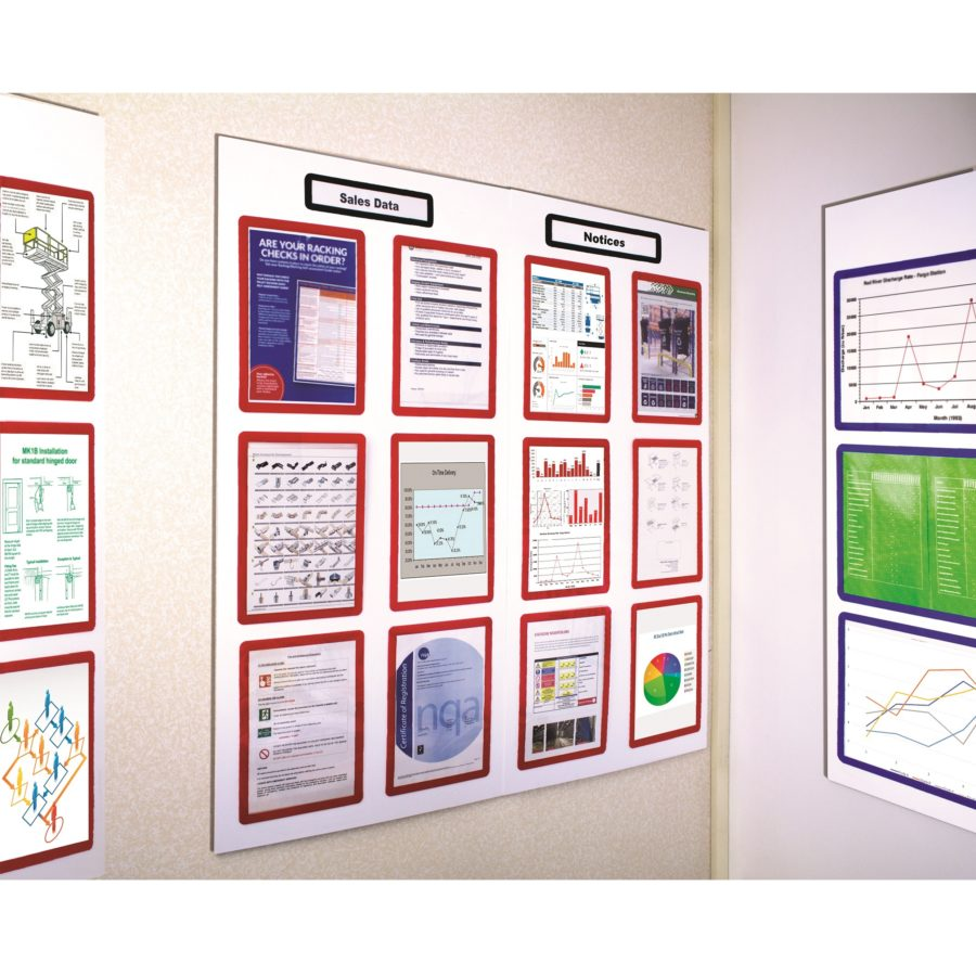 boards4frames - Notice boards with document display