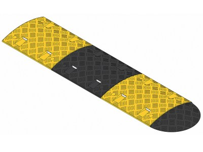 Speed bumps middle and end sections