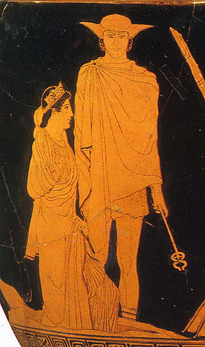Image result for ancient greek vase hades