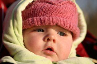 Bébé et le froid