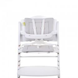 coussin de chaise evolutive eponge pastel mouse grey