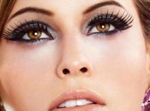 Thick and Long Eyelashes
