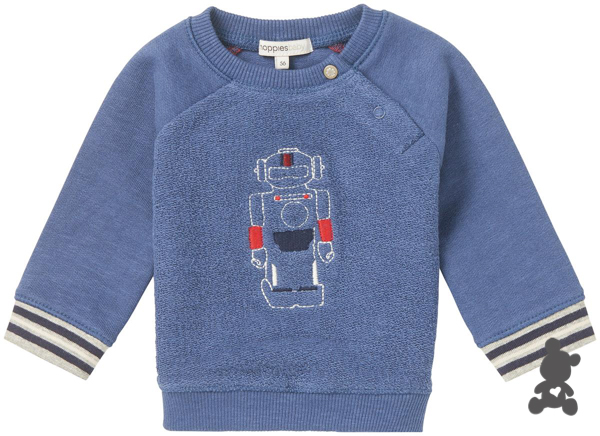 Noppies // Sweater 'Genua' // 'Robots'