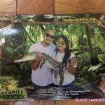 This pic costs 180 pesos – Crocodile Farm