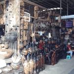Wooden art in Souveneir Shop