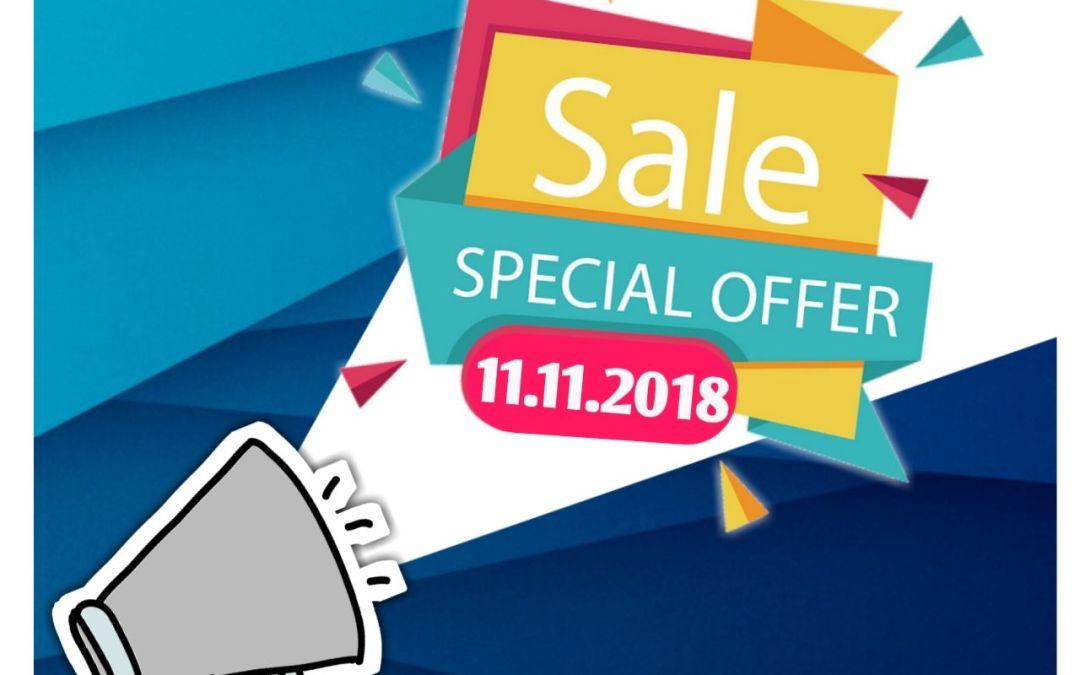 Promosi 11.11 Shaklee Discount 11%