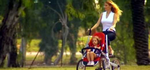 carrinho de bebe bicicleta