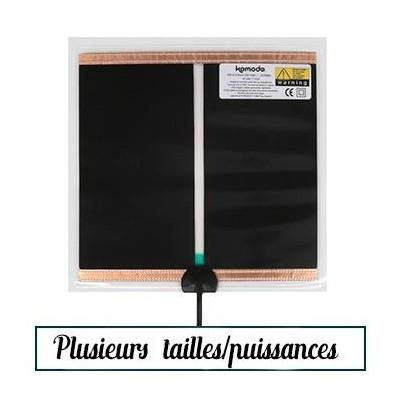 tapis chauffant 3 a 35w cloth heat mat nouvelle generation komodo